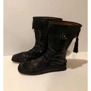 New Marc Jacobs Sequin Fringe Boot